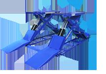 Cầu nâng cắt kéo kiểu xếp