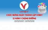 Mừng 12 năm sinh nhật Vimet Corp