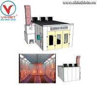 Giới thiệu phòng sơn sấy gốc nước và quy trình làm việc