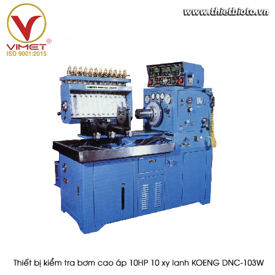 Thiết bị kiểm tra bơm cao áp 10HP 10 xy lanh KOENG DNC-103W