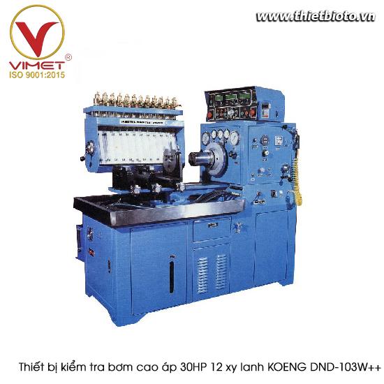 Thiết bị kiểm tra bơm cao áp 30 HP 12 xy lanh KOENG DNB-103W++