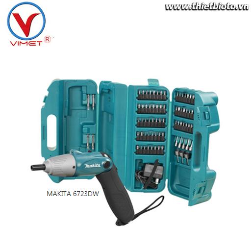 Máy bắt vít dùng pin 4.8V Makita 6723DW