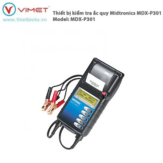 Thiết bị kiểm tra bình Acquy và hệ thống nạp điện Midtronis MDX-P301
