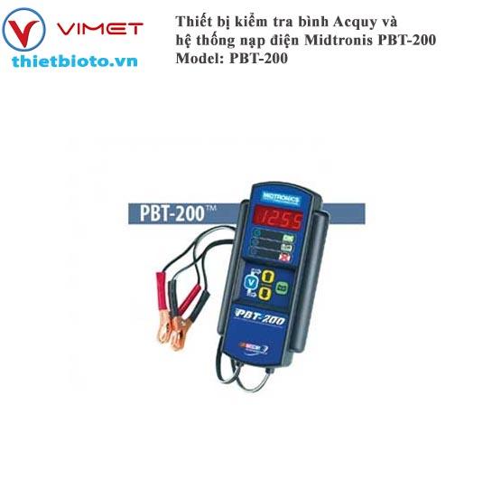 Thiết bị kiểm tra bình Acquy và hệ thống nạp điện Midtronis PBT-200 NN