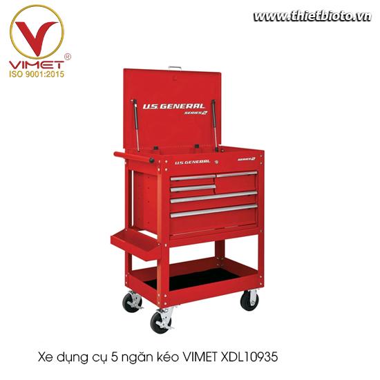 Xe dụng cụ 5 ngăn kéo Vimet XDL10935
