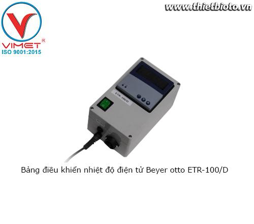 Bảng điều khiển nhiệt độ điện tử Beyer Otto ETR-100/D