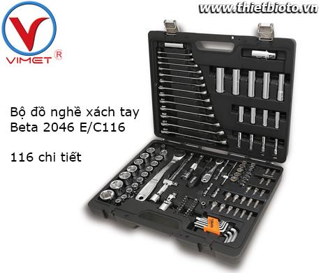 Bộ đồ nghề xách tay 116 chi tiết Beta 2046 E/C116