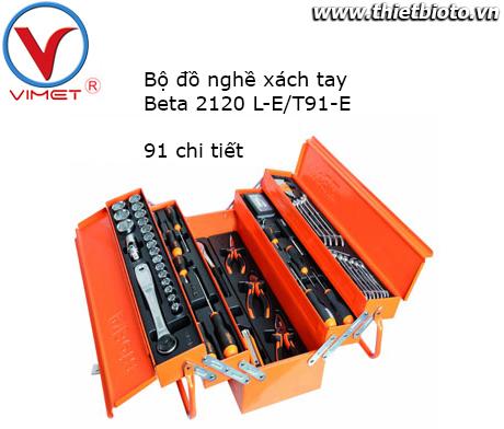 Bộ đồ nghề xách tay 91 chi tiết Beta 2120 L-E/T91-E