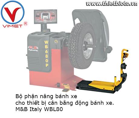 Bộ phận nâng bánh xe cho thiết bị cân bằng động bánh xe WBL80