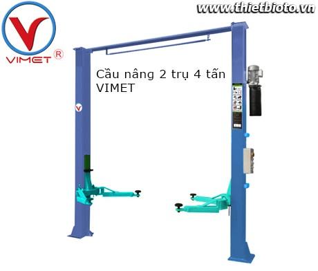 Cầu nâng 2 trụ 4 tấn VIMET PL-40-LH