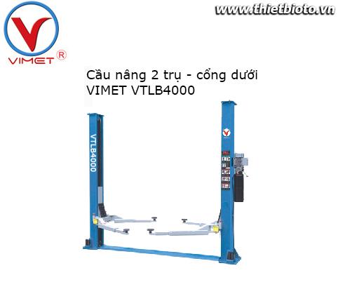 Cầu nâng 2 trụ cáp dưới VIMET VTLB4000