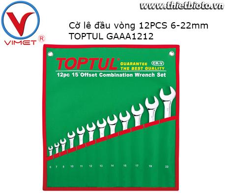 Bộ cờ lê vòng 12 món TOPTUL GAAA1212