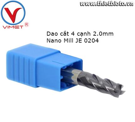 Dao cắt 4 cạnh Nano Mill JE 0204