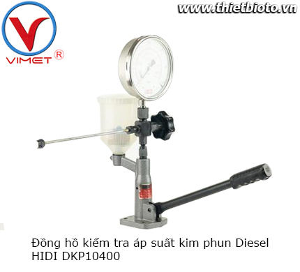 Đồng hồ kiểm tra áp suất kim phun nhiên liệu Diesel DKP10400