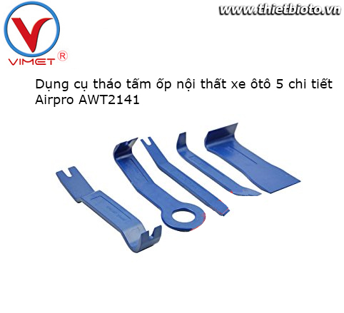 Dụng cụ tháo ốp nội thất xe ôtô 5 chi tiết Airpro AWT2141