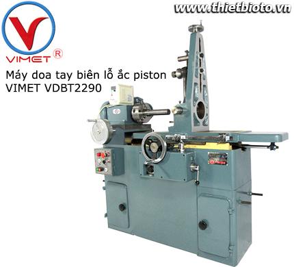 Máy doa tay biên và lỗ ắc piston thủy lực VDBT2290