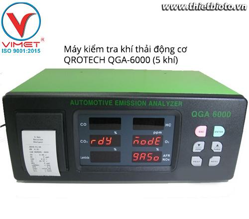 Máy kiểm tra khí thải động cơ QGA-6000