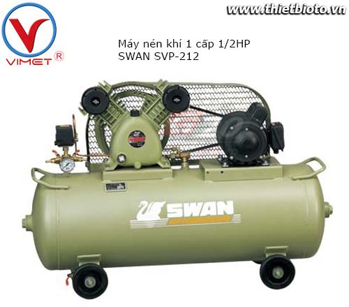 Máy Nén Khí 1 Cấp 0.5HP Swan SVP-212