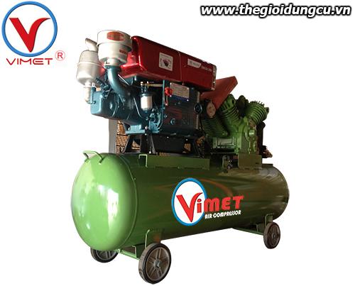 Máy nén khí cao áp động cơ Diesel Vimet 10HP MDH210