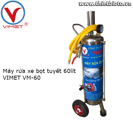 Máy rửa xe bọt tuyết 60 lit Vimet VM-60
