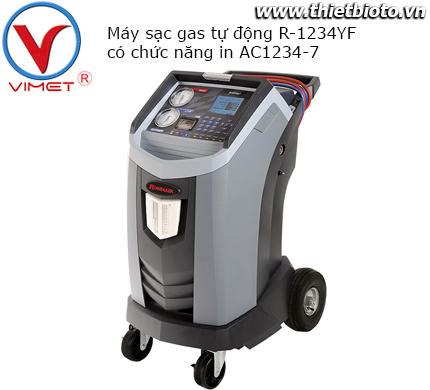 Máy sạc gas lạnh AC1234-7 tự động cho gas R-1234yf