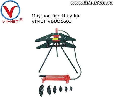 Máy uốn ống thủy lực Vimet VBUO1603
