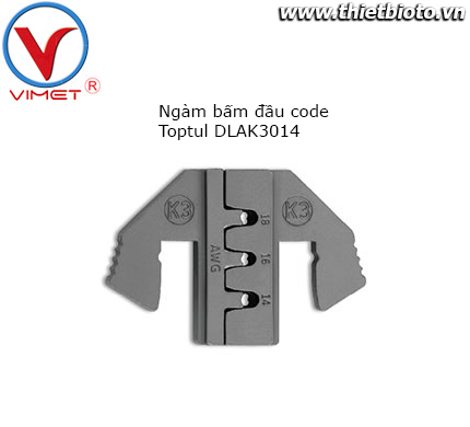 Ngàm bấm đầu code Toptul DLAK3014