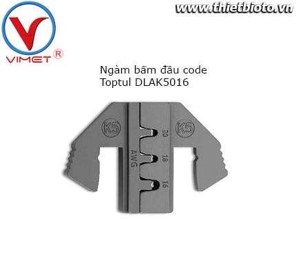 Ngàm bấm đầu code Toptul DLAK5016