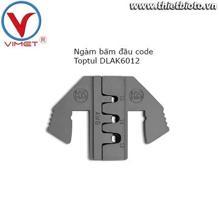 Ngàm bấm đầu code Toptul DLAK6012