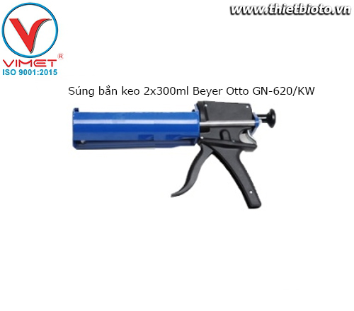 Súng bắn keo 2x300ml Beyer Otto GN-620/KW