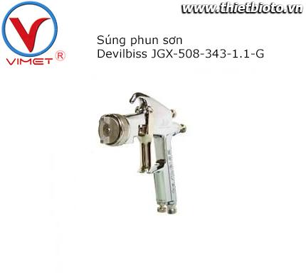 Súng phun sơn JGX-508-343-1.1-G