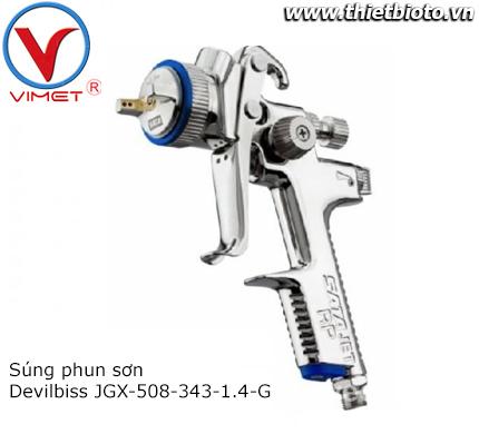 Súng phun sơn JGX-508-343-1.4-G