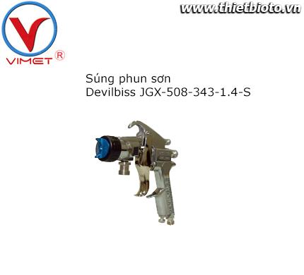 Súng phun sơn JGX-508-343-1.4-S