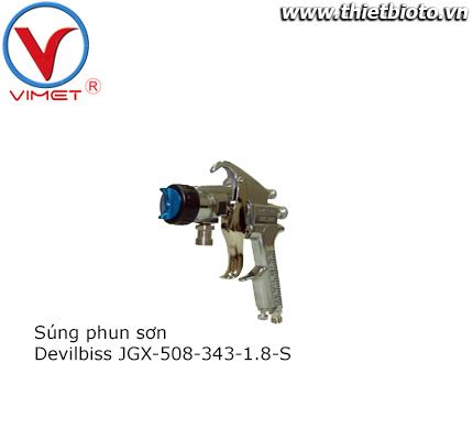 Súng phun sơn JGX-508-343-1.8-S