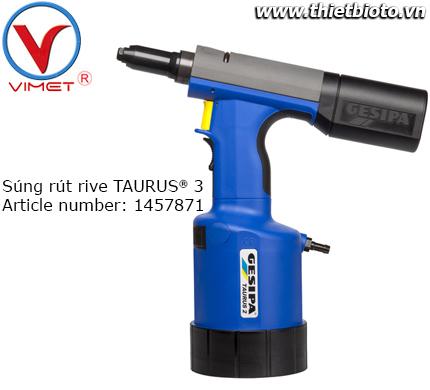 Súng rút rive khí nén TAURUS® 3 Gesipa