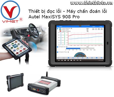 Thiết bị đọc lỗi Autel MaxiSYS 908 Pro