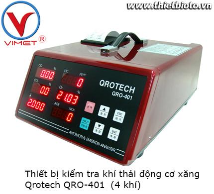 Thiết bị kiểm tra khí thải động cơ xăng Qrotech QRO-401