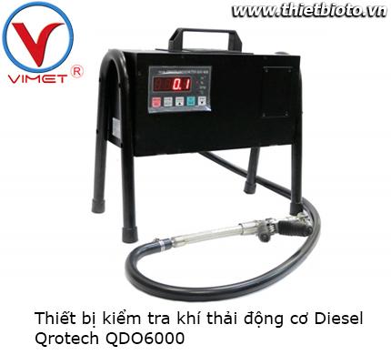 Thiết bị kiểm tra khí xả động cơ Diesel QDO6000