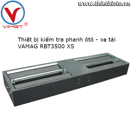 Thiết bị kiểm tra phanh xe con và xe tải nhẹ có tải trọng tới 3.5 tấn RBT3500 XS