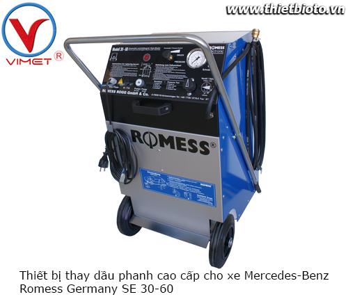 Thiết bị thay dầu phanh cao cấp Romess SE 30-60