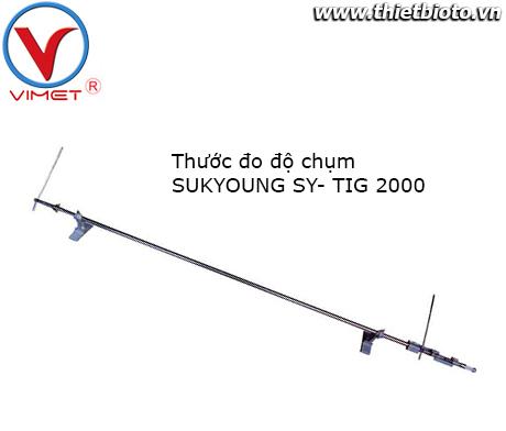 Thước đo độ chụm SUKYOUNG SY-TIG 2000
