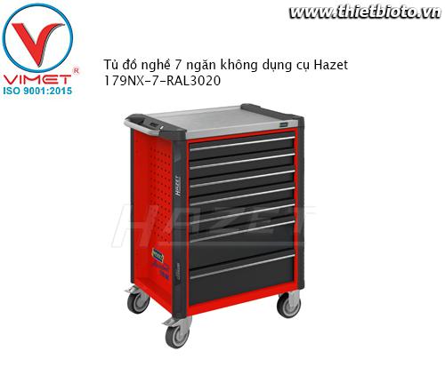 Tủ đồ nghề 7 ngăn không dụng cụHazet 179NX-7-RAL3020