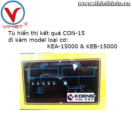 Tủ hiển thị kết quả loại cơ CON-15