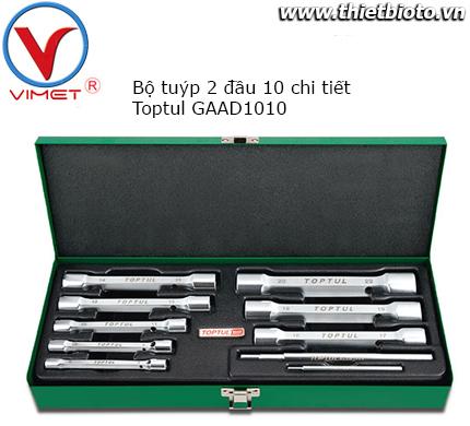Bộ ống tuýp 2 đầu 10 chi tiết Toptul GAAD1010