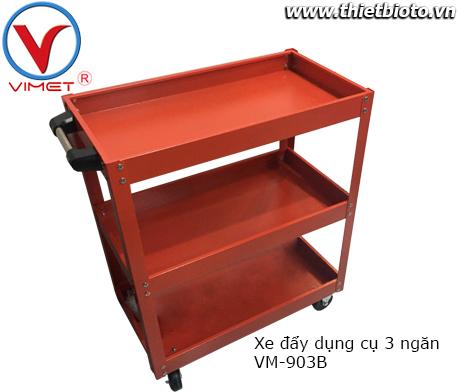 Xe đẩy dụng cụ 3 ngăn Vimet VM-903B